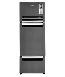 Whirlpool 260 Ltr 5 Star FP 283D PROTTON SO Double Door Refrigerator - Steel