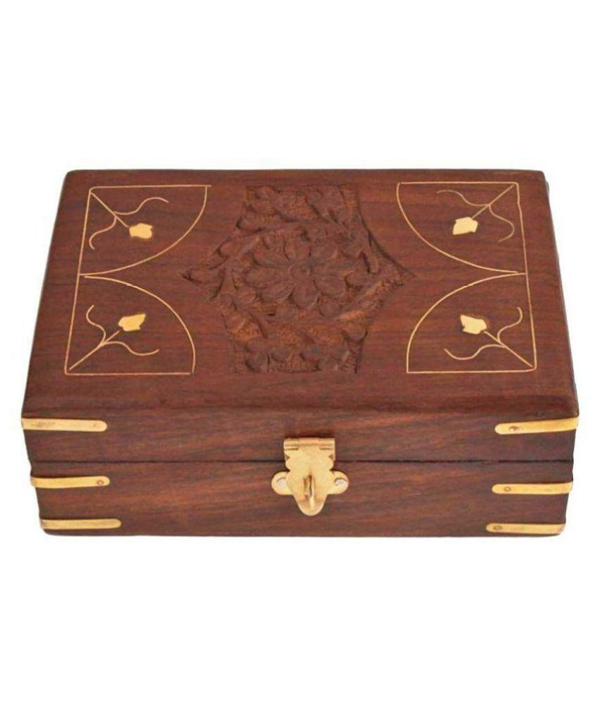 Being Creative Wooden Jewellery Box