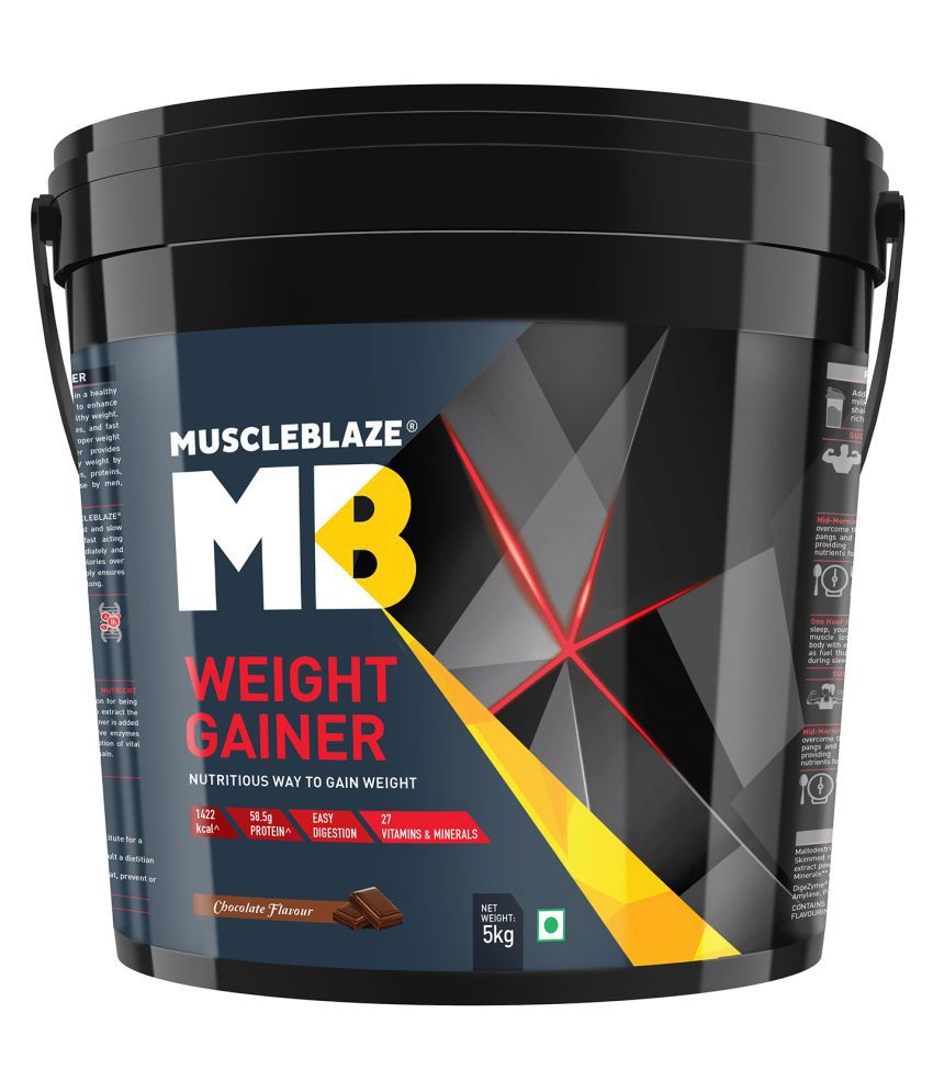 MuscleBlaze Weight Gainer 5000 gm Weight Gainer Powder