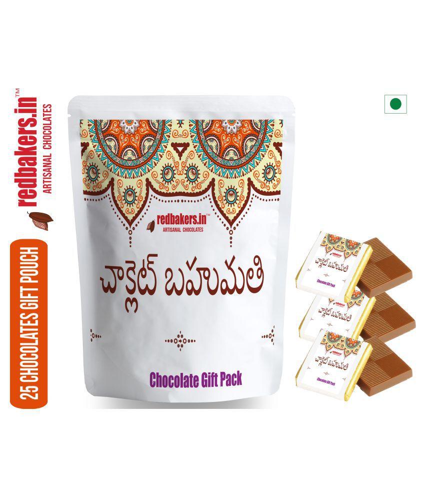 redbakers.in Chocolate Sampler TELUGU 25 Chocolate Gift Pack 250 gm
