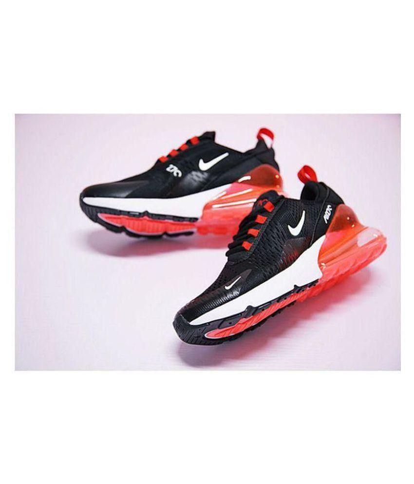 nike 1 air max 27c running shoes black