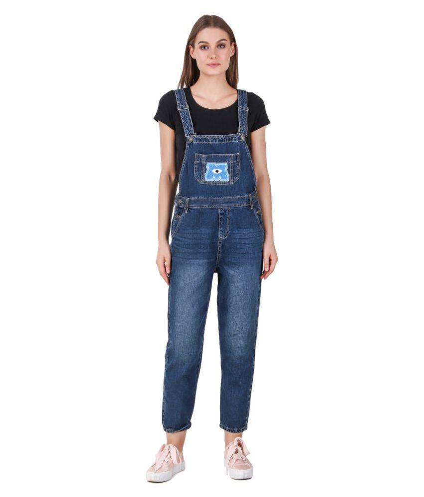 Cali Republic Denim Jeans Dungarees - Blue