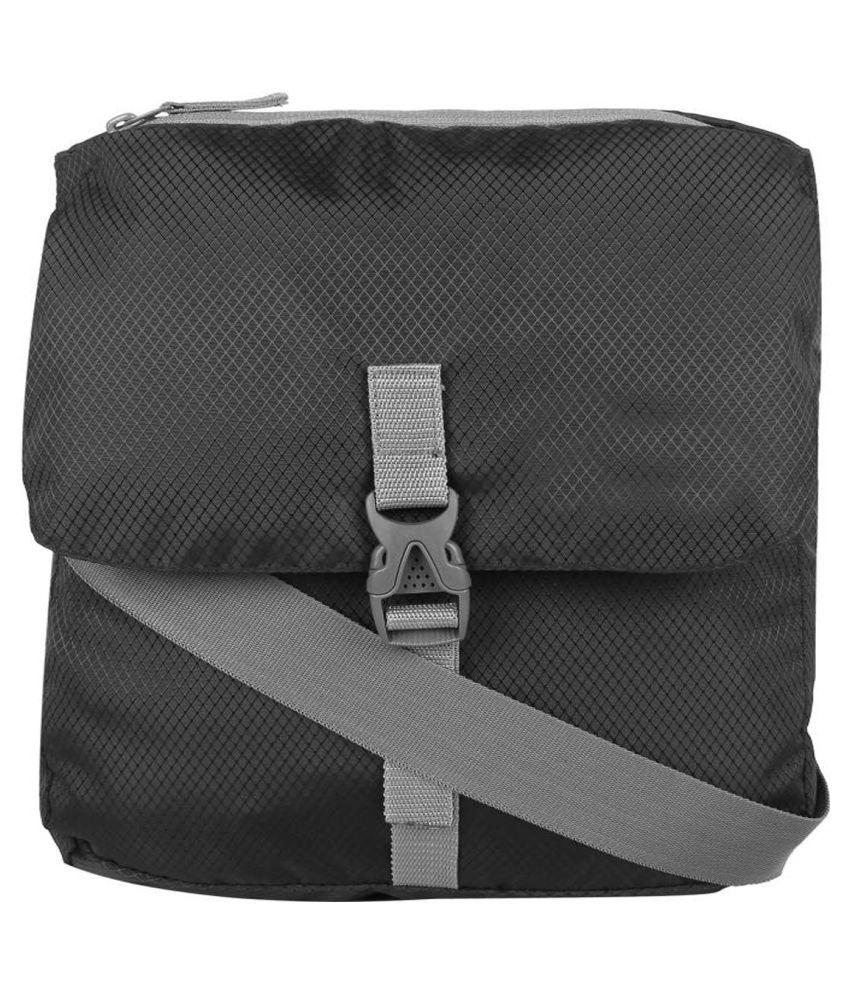 C4U KUI_495 Black Polyester Casual Messenger Bag