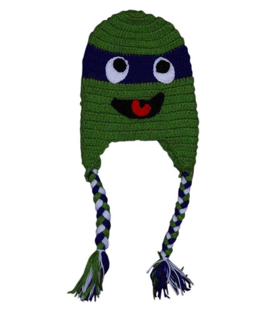 Mymeo Red Eyes Ninja Turtles Baby Cap