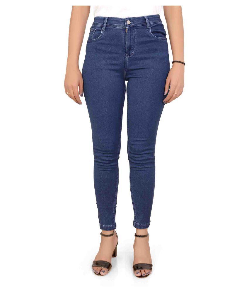 FORTH Denim Lycra Jeans - Blue