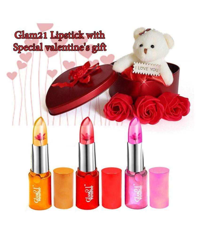 Adbeni Fabric Valentine Hamper Red - Pack of 4