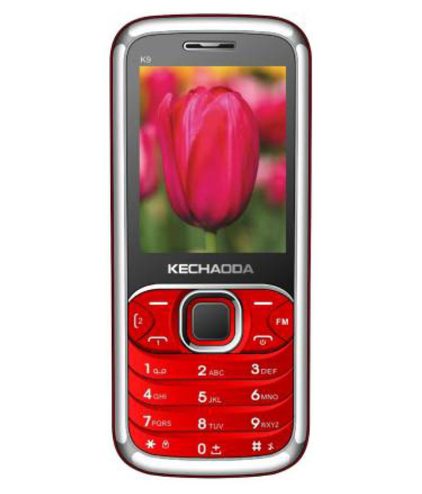 Kechaoda K9 Red Black   Cheap Feature Mobile Phone