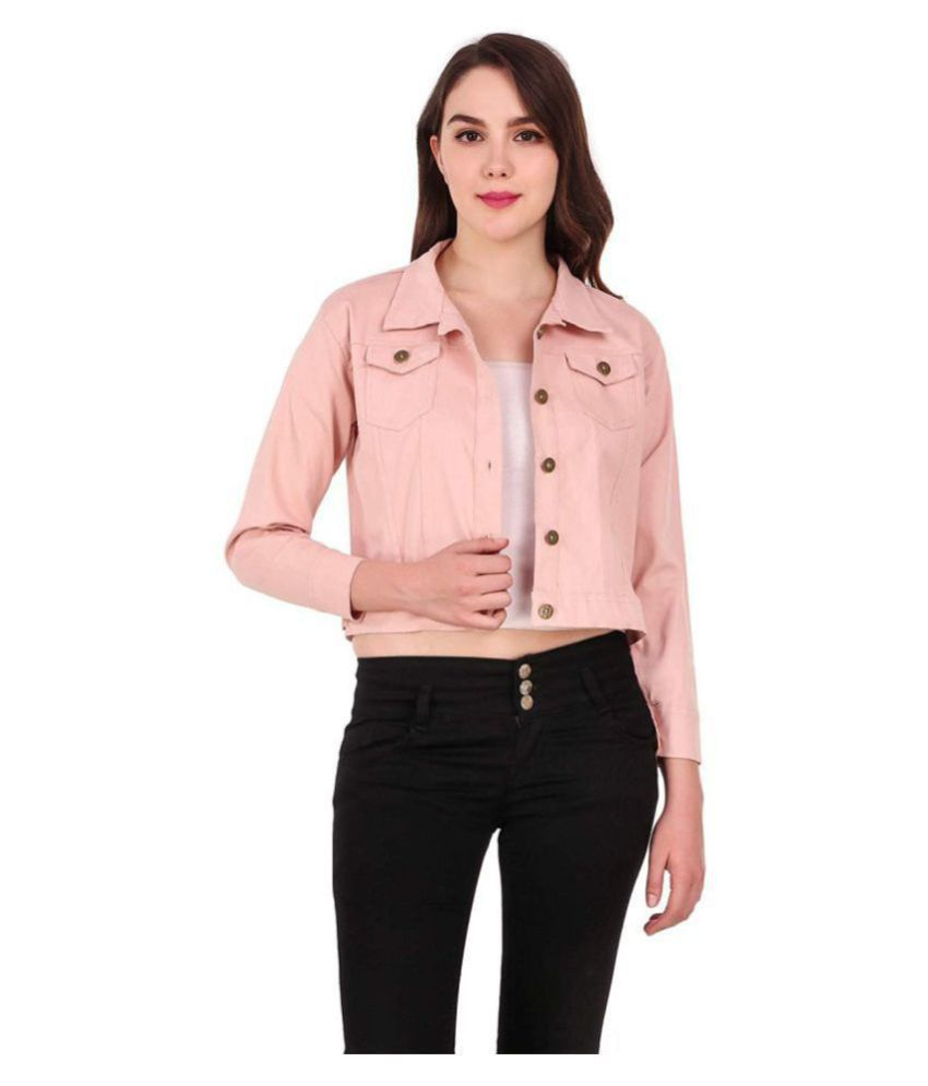 STC Cotton Blend Pink Jackets