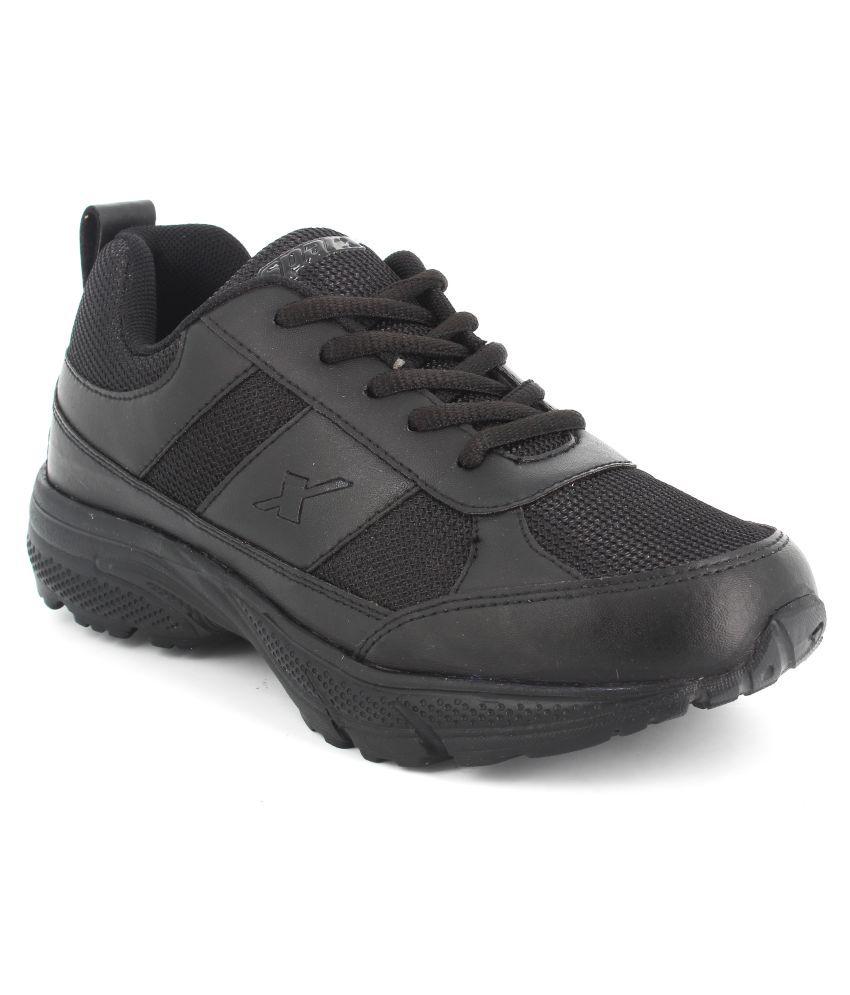 Sparx SX9012B Black Sports Shoes for Kids