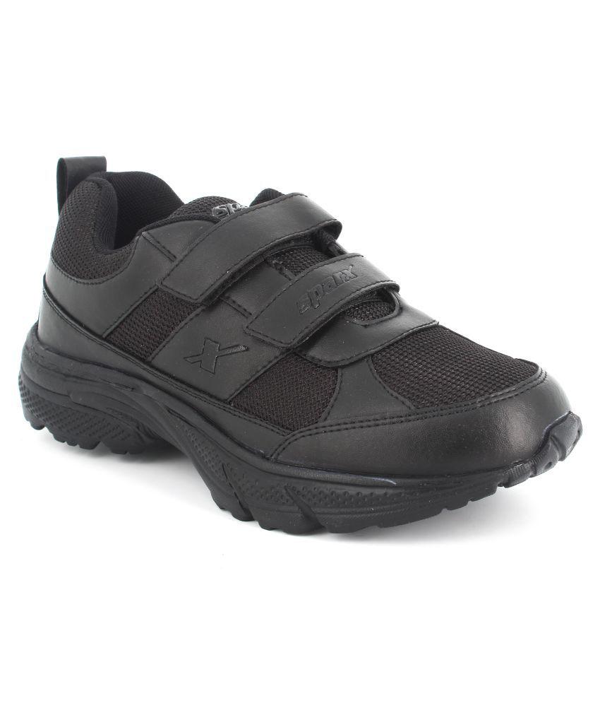 Sparx SX9013B Black Sports Shoes for Kids