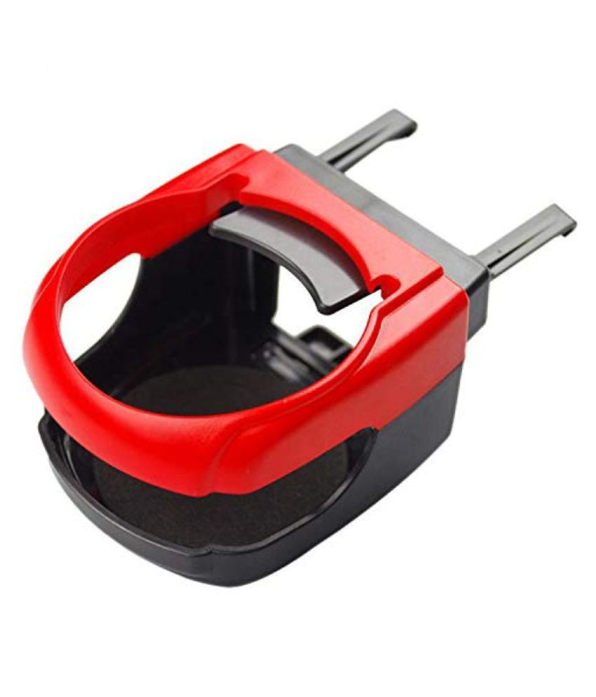 KolorFish Cup & Can Holder for Headrest Red