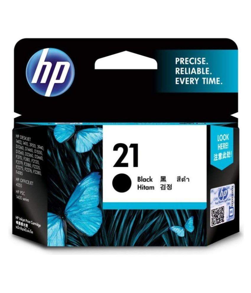 HP 21 Black Ink Cartridge C9351AA 21