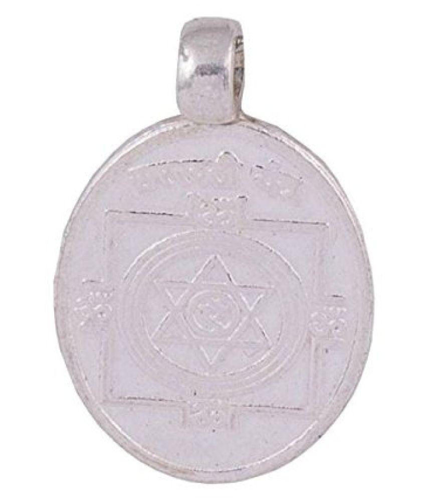 Pandit NM Shrimali Saraswati Yantra Pendant (Silver)
