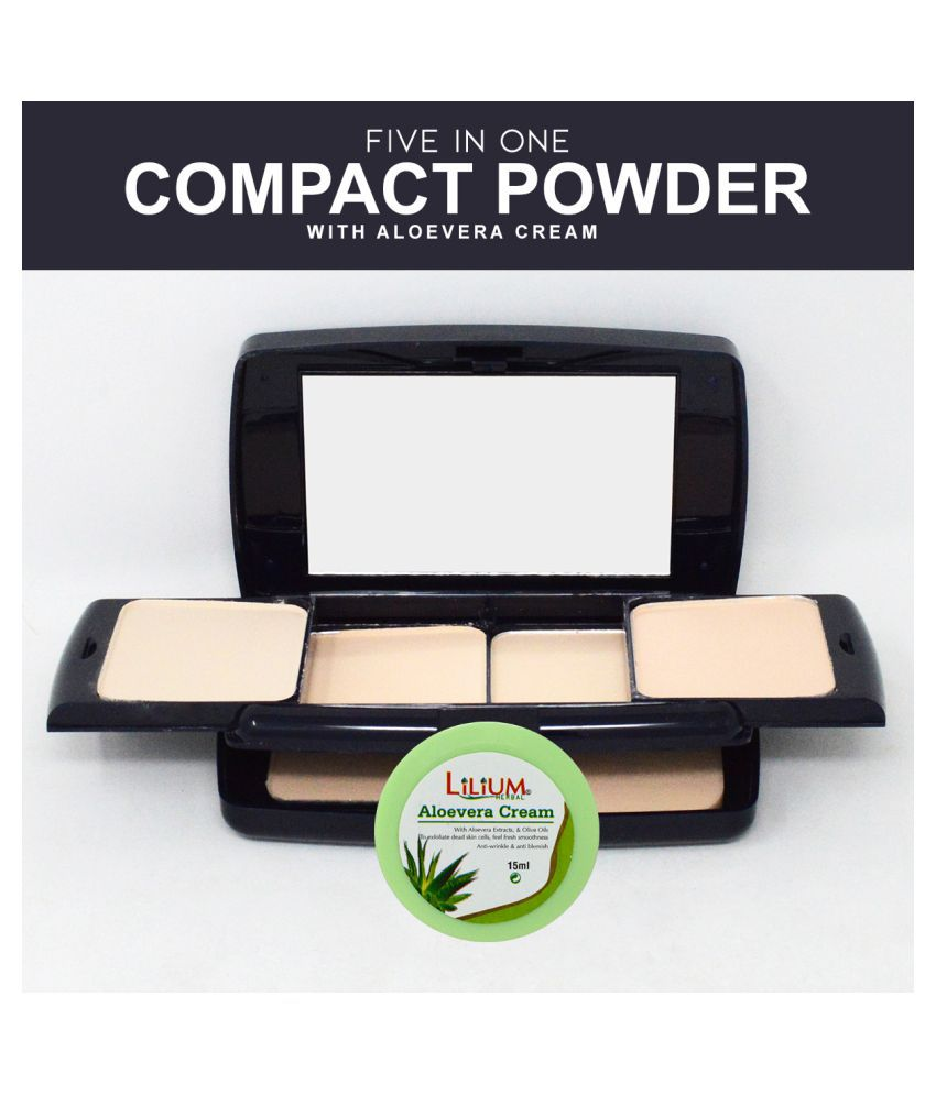 ADS Good Choice India Professional Finish Compact A8207 Pressed Powder with Aloevera Cream Ivory 45 g