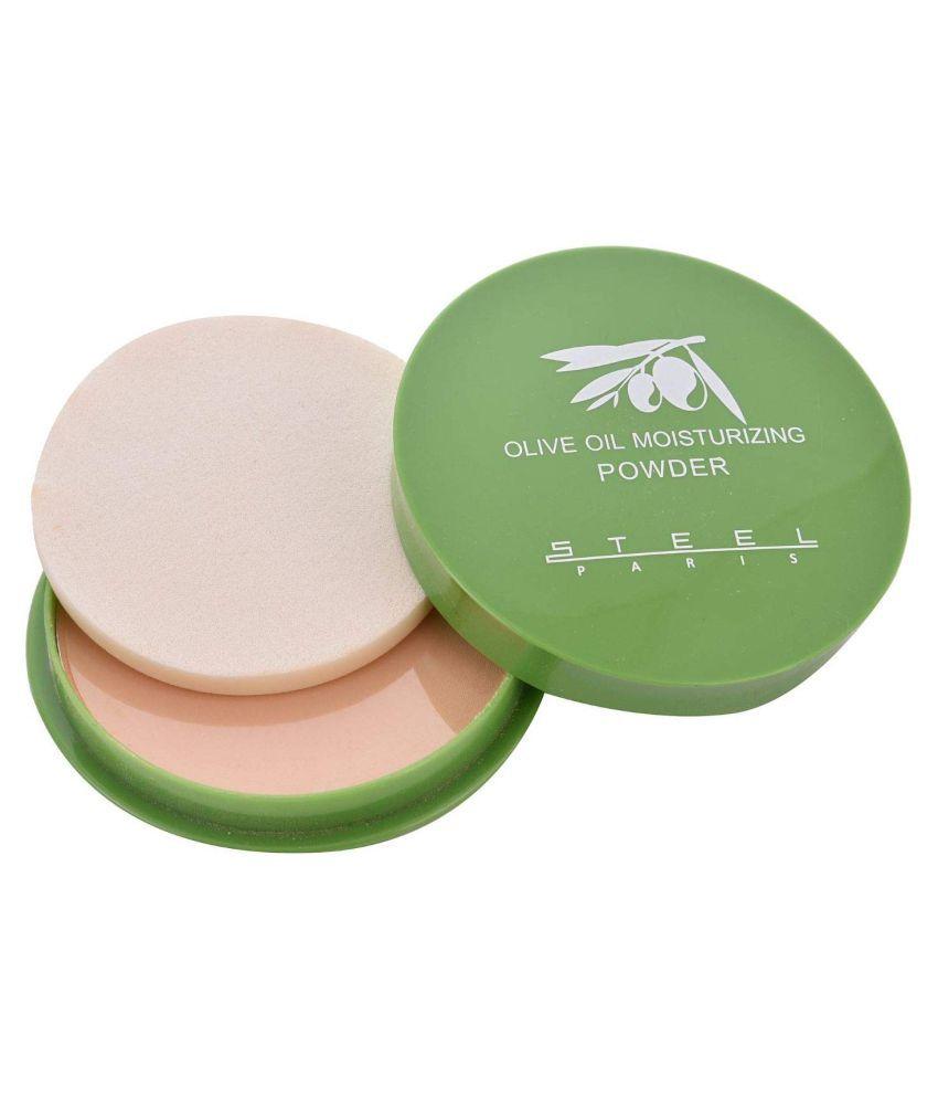 Uni5 Olive Oil  Moisturising Pressed Powder Medium 12 g