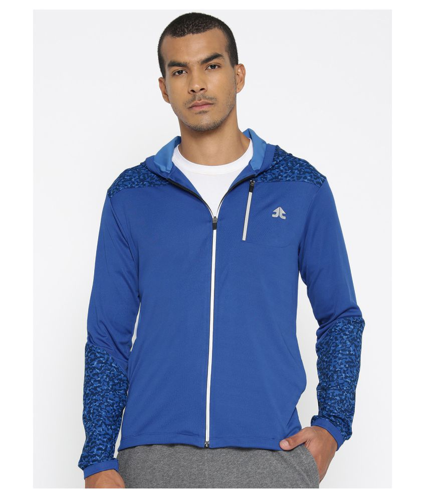 OFF LIMITS Blue Polyester Fleece Jacket
