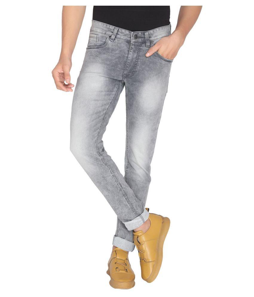 ROAD ROCKERS Grey Skinny Jeans