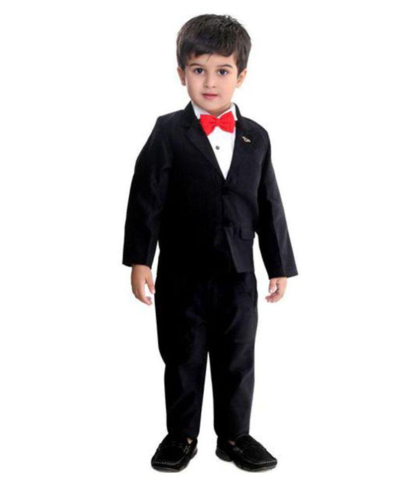 Bad Boys Classic Black Tuxedo Suit