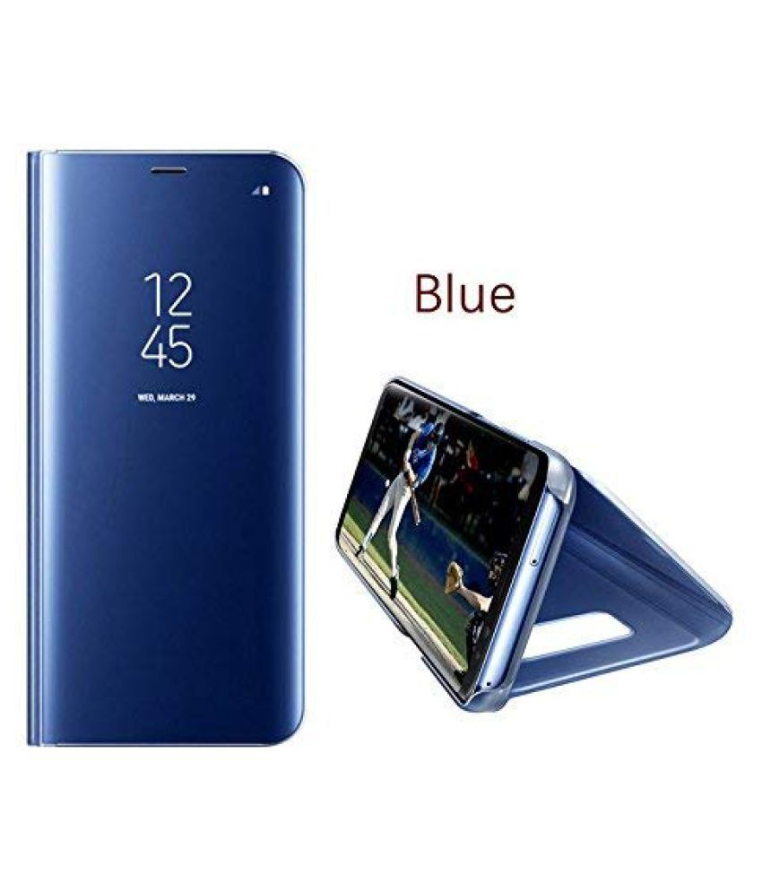 new style 4557f 4e087 Honor 8X Flip Cover by BeingStylish - Blue