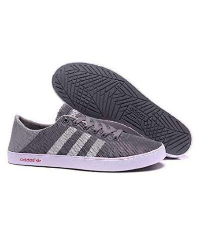 Actual Creyente pastor  Adidas Neo Sneakers Gray Casual Shoes - Buy Adidas Neo Sneakers Gray Casual  Shoes Online at Best Prices in India on Snapdeal