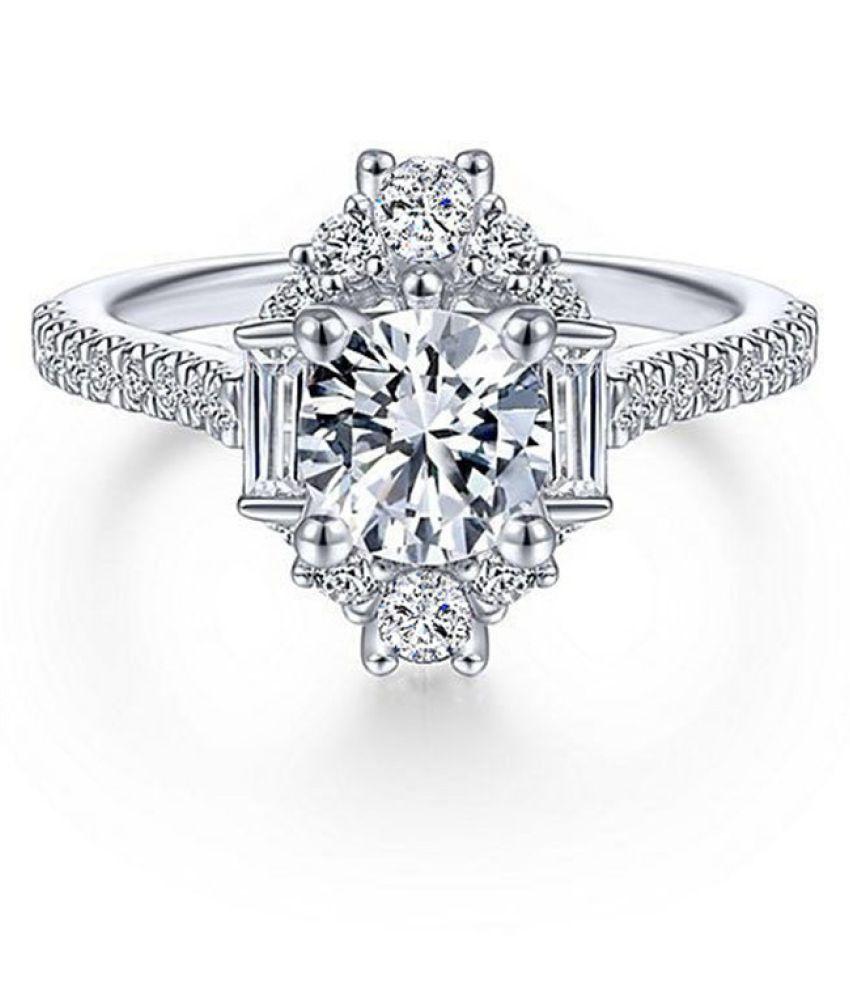 Geometric Fashion Ladies Ring Fashion Jewellery