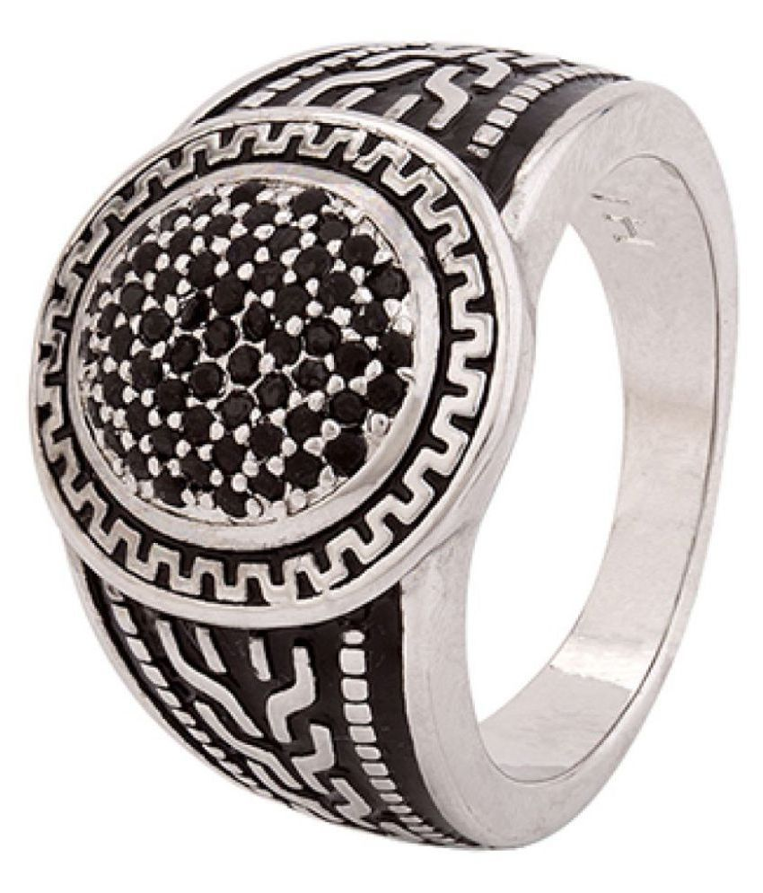 Dare Silver Stainless Steel Rings