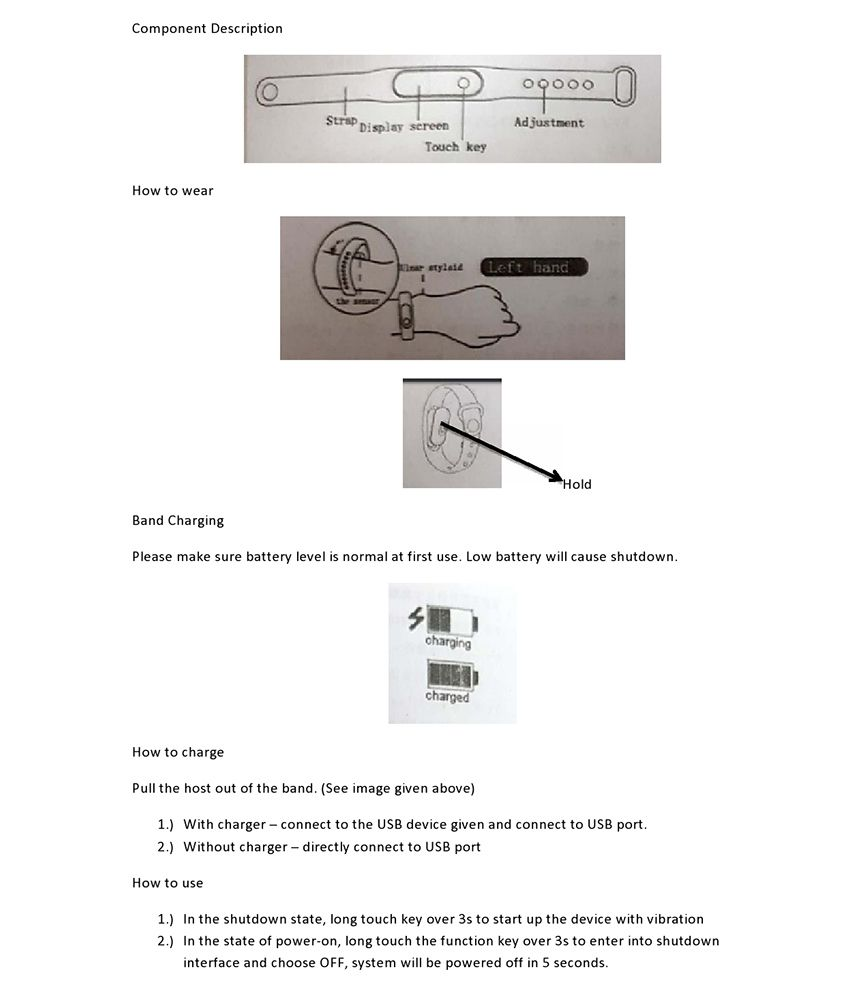 0d24a65fc ... IRONFIX M2 smart watch Smart Watches (features similar to MI watch) ...