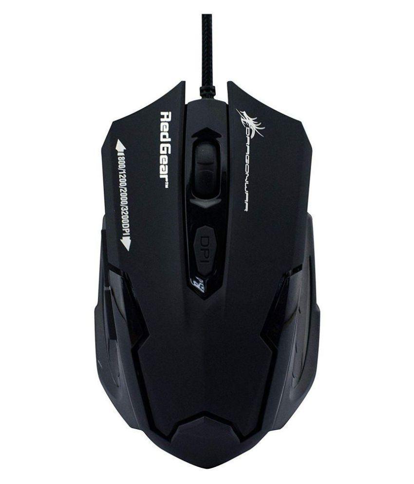 redgear Dragonwar ELE-G11 Laser Mouse ( Wired )