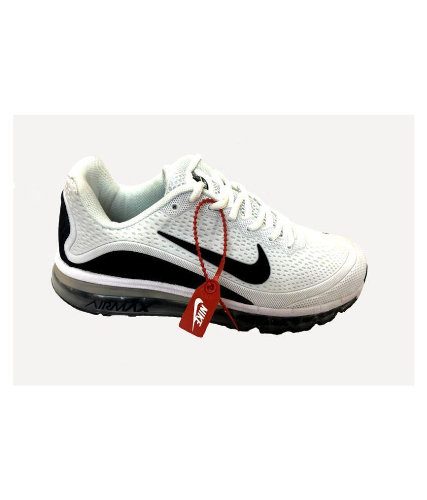 206c1f05910a2 Nike AIRMAX 17.5 BLACK White Running Shoes - Buy Nike AIRMAX 17.5 ...
