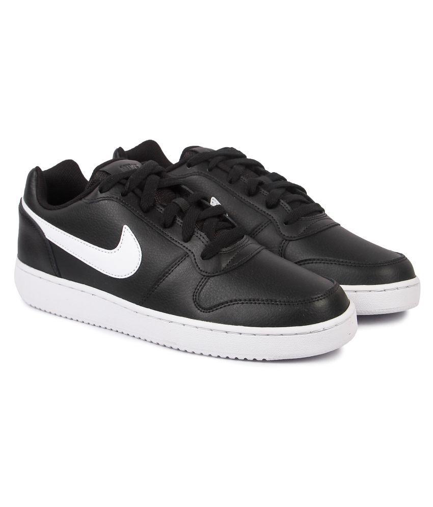 Nike EBERNON LOW Black Running Shoes