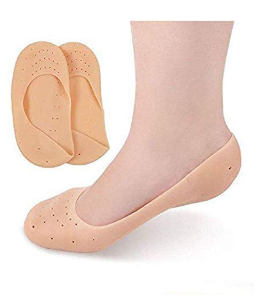varniraj import export Anti Crack Silicon Foot Moisturizing Socks Gel Foot Socks -Set Of 1 Large L