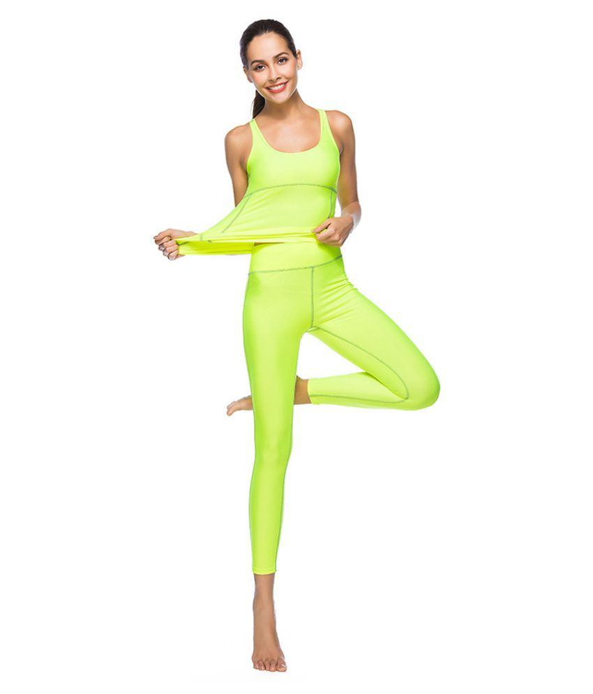 Women's Yoga Sets Female Sports Athletic Apparel Outfits Running Clothing New