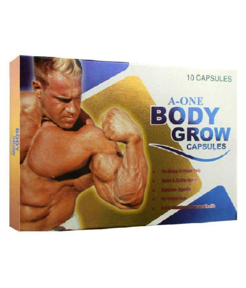 NT Herbs A One Body Grow 10 X 5 = 50 no.s Weight Gainer Tablets Pack of 5