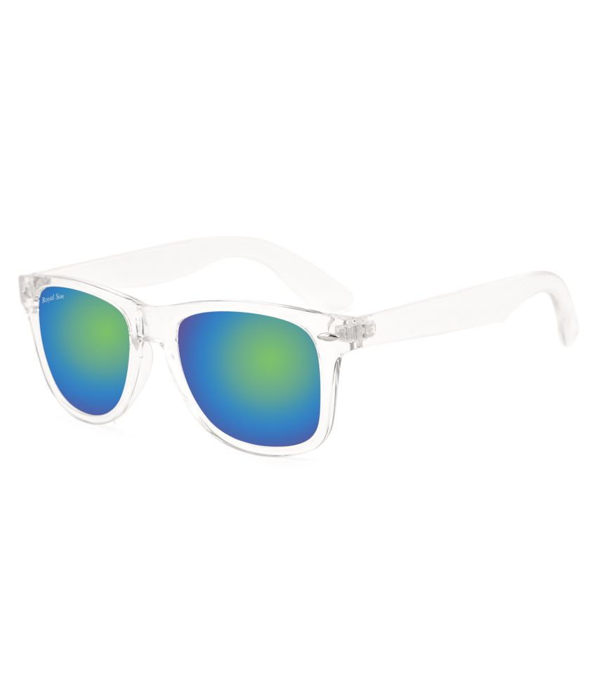 Royal Son Blue Wayfarer Sunglasses ( RS007WF-WM )