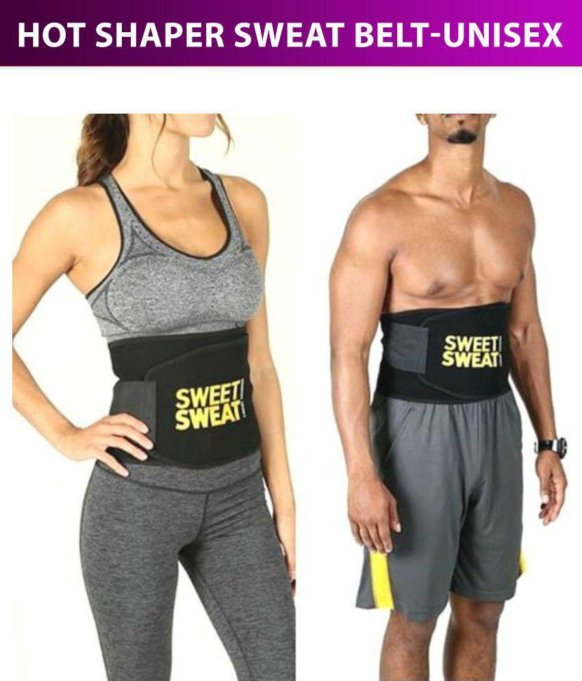 VD Traders Sweat Slim Tummy fat Reduce Belt Adjustable