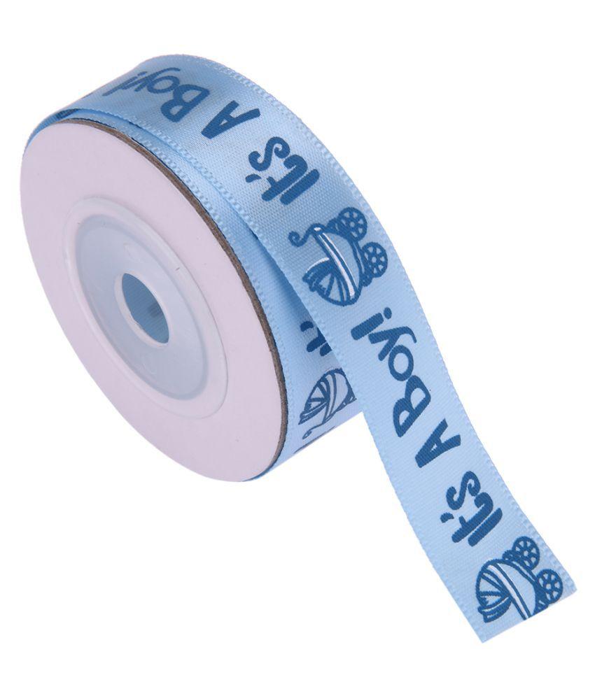 CadetBlue IT'S A BOY Ribbons Baby Birthday / Baby Shower Decoration [TG068-2]