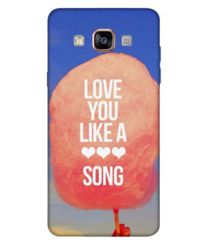 Samsung Galaxy A5 Printed Cover By Emble