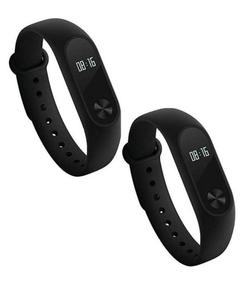 26ee0cb73 M2 Smart Fitness Band -( Pack of 2 ) With Heart Rate Sensor (Features like  MI Watch) Water proof  Buy Online at Best Price on Snapdeal