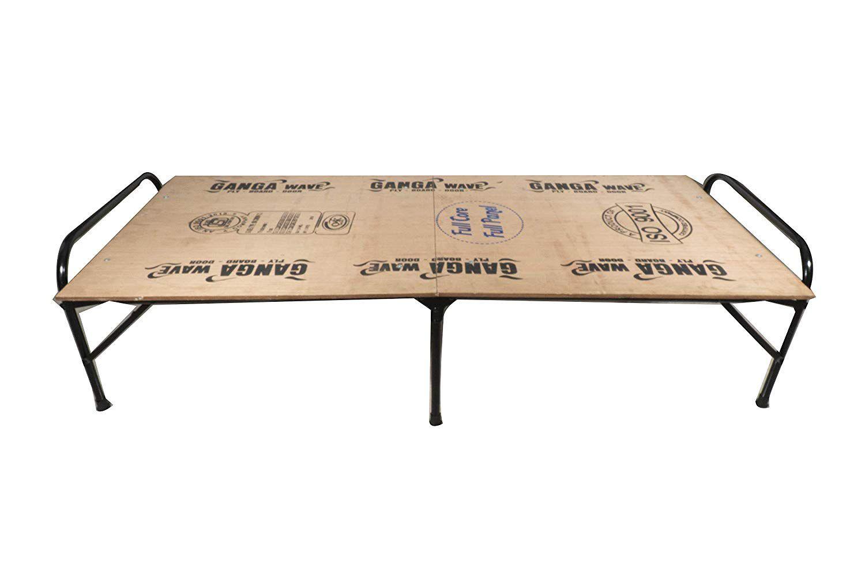 Classic Single Size Folding Bed | Iron Folding Bed | Wood ...