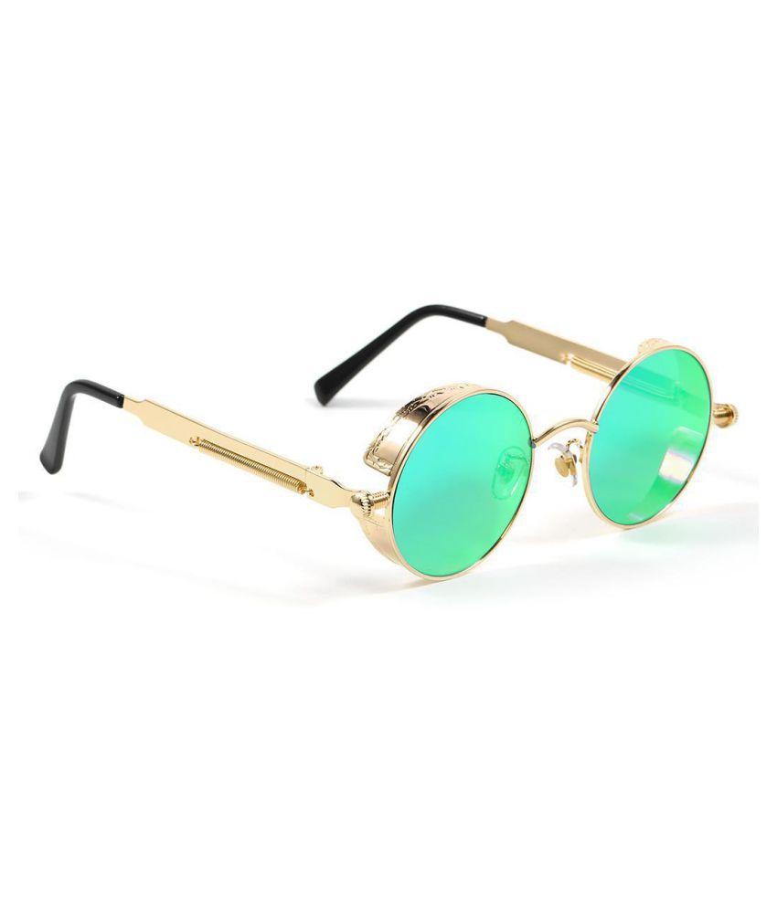 Punk Style Fashion Men Women Eyewear Casual Round Shape Sunglasses