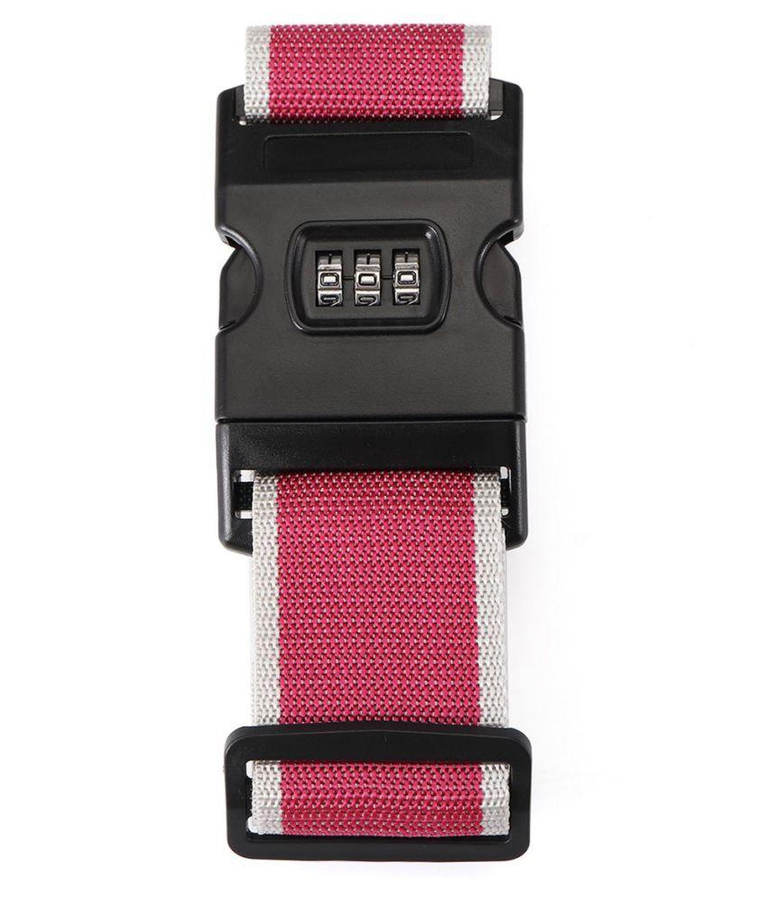 91aea0804954 Honana Suitcase Belt Non Slip Strength Travel Belt Luggage Strap with 3  Digit Combination Bike Lock