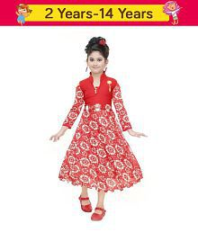 9e86161649 Quick View. SBN Girls Red Full-Sleeves Party Wear ...