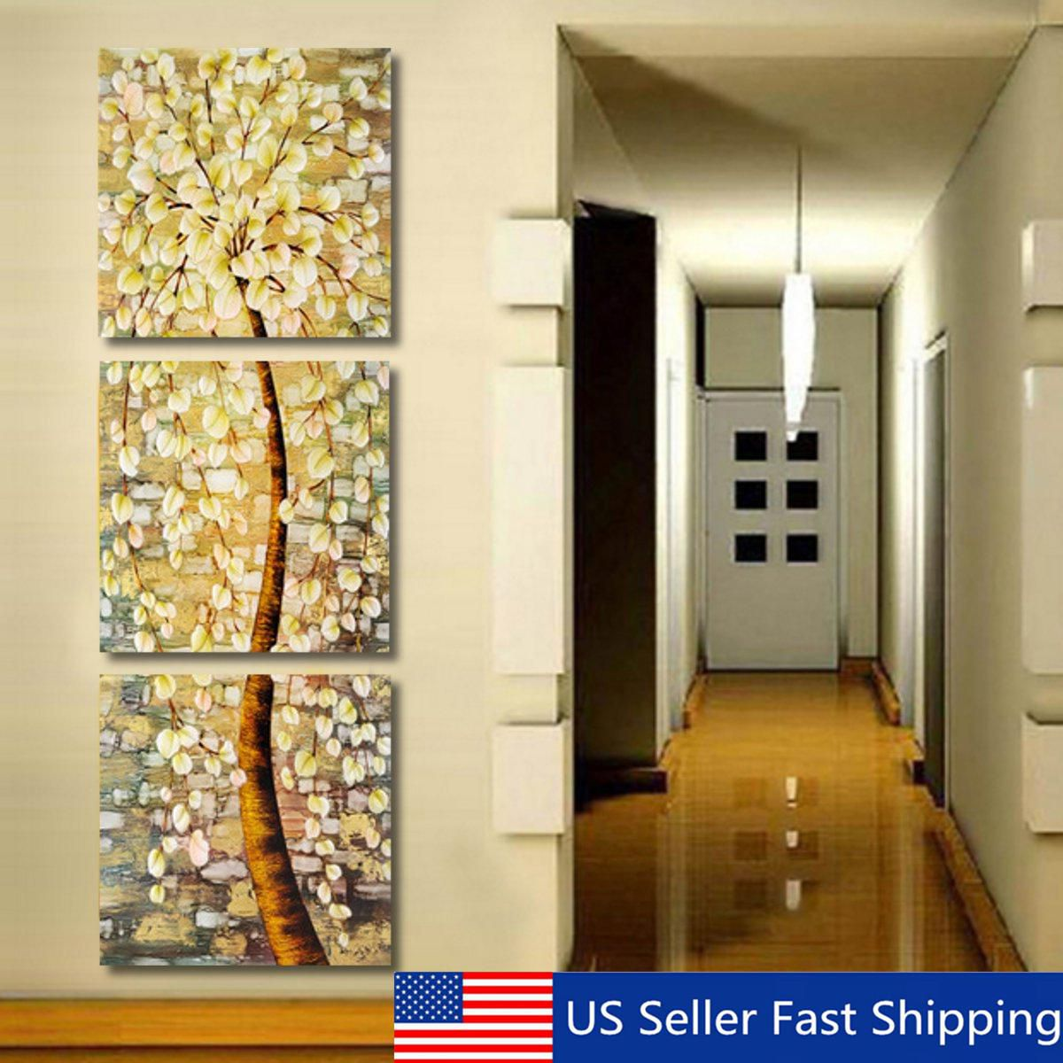 AMAZING ABSTRACT OIL PAINT REPRINT ON  WOOD FRAMED CANVAS WALL ART DECORATION