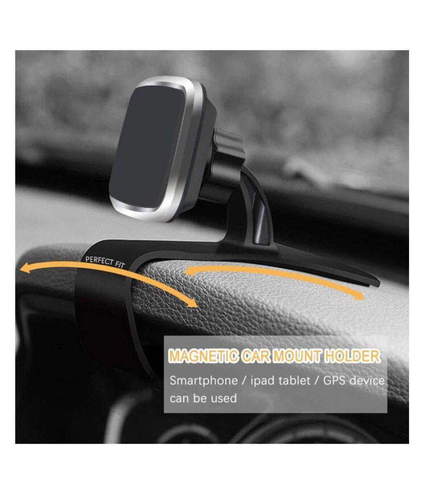 Kolorfish Magnetic Multi Use Car, Desk Phone Mobile Holder Mount Stand,  Universal Magnetic (Square Shape)[Super Strong Magnet]