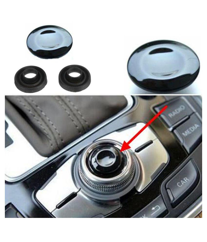 MMI Knob Joystick Button Cap Cover Repair Kit For Audi A4 A5 A6 Q5 Q7 S5 S6  S8 Cabriolet Sedan Avant