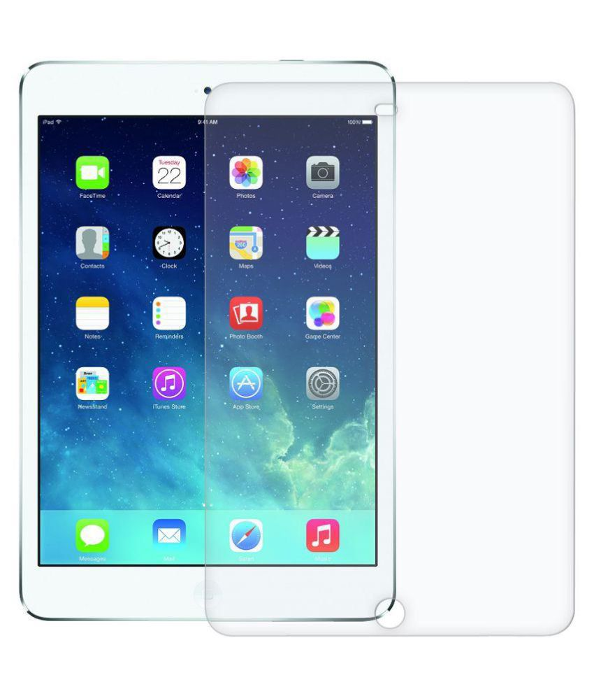 Apple iPad Air 2 Clear Screen Guard by Wildfab Unbreakable Flexible Glass Guard