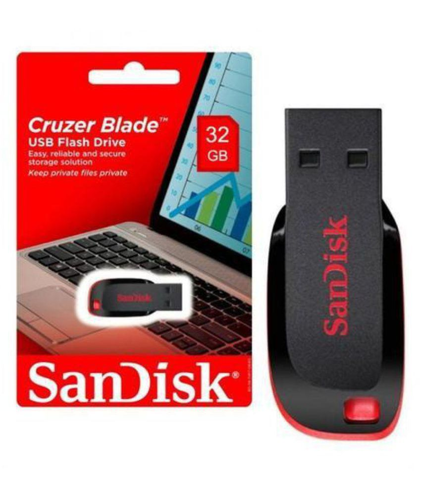 SANDISK 32GB Pendrive 32GB USB 2.0 Utility Pendrive Pack of 1