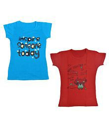 cfd62633 Girls Tops: Buy Girls Tops, Shirts, T-shirts Online at Best Prices ...