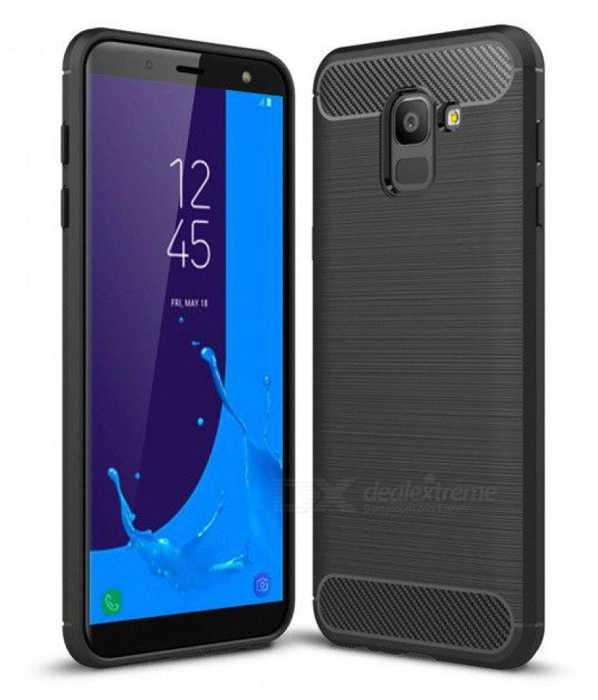 Samsung Galaxy J6 Hybrid Covers SLR - Black