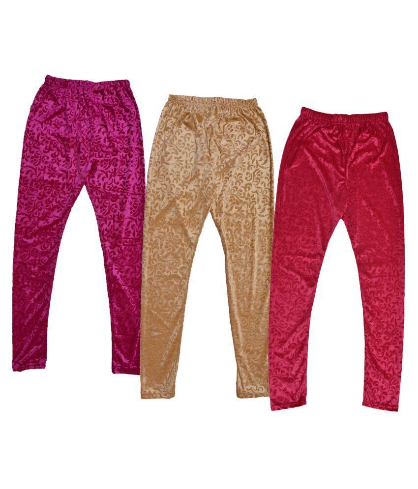 KAYU Cotton Pack of 3 Leggings